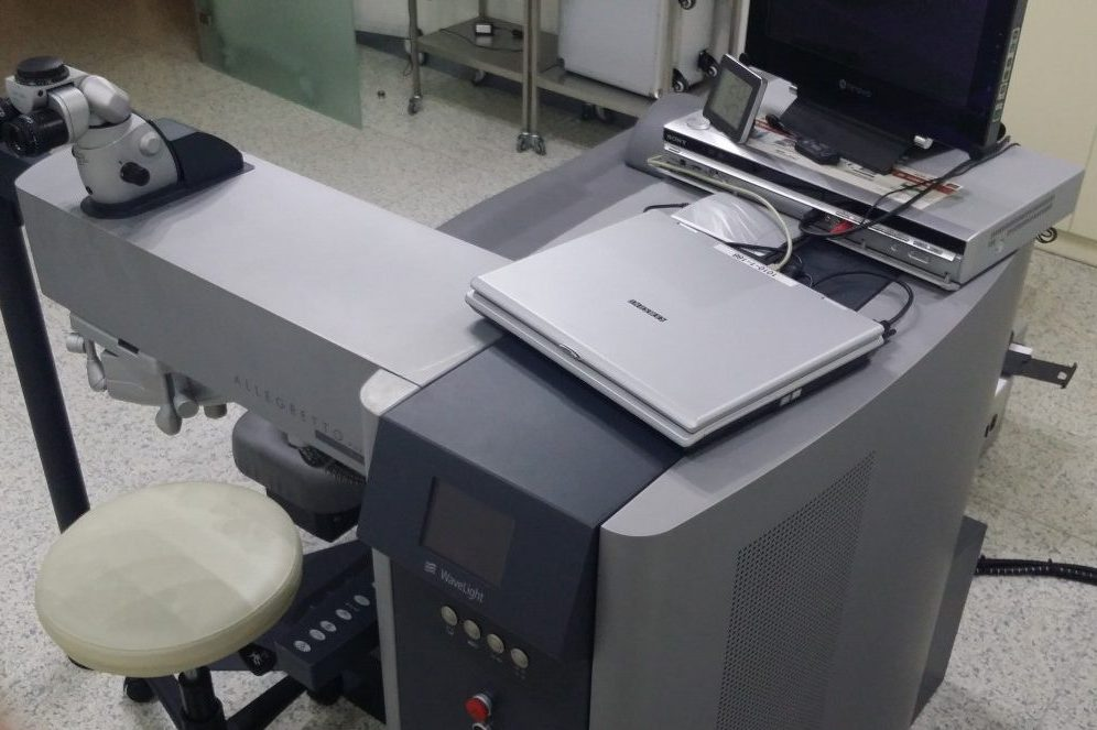Μονάδα Excimer Laser Allegretto 400