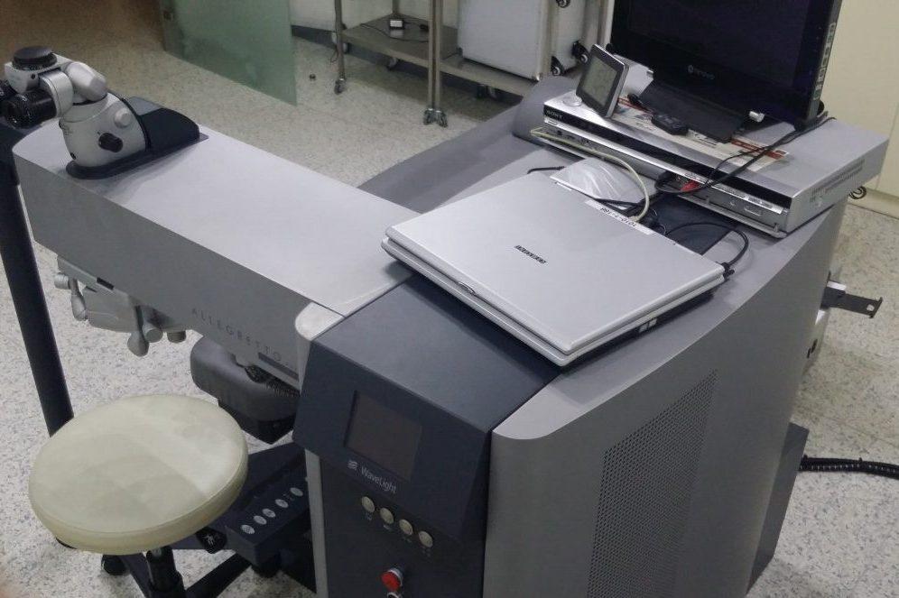 Μονάδα Excimer Laser Allegretto 400